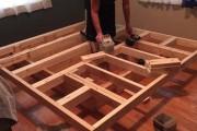 Κατασκευάζοντας ένα κρεβάτι που «αιωρείται» (8)