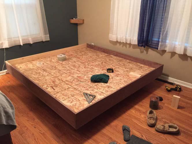 Κατασκευάζοντας ένα κρεβάτι που «αιωρείται» (12)