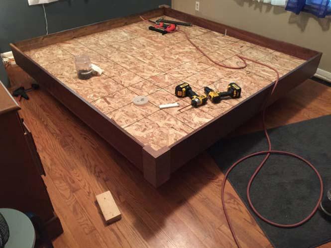 Κατασκευάζοντας ένα κρεβάτι που «αιωρείται» (14)