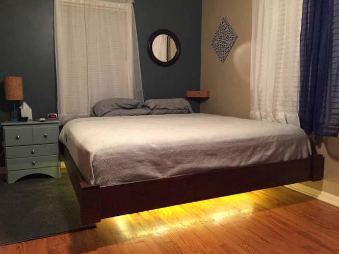 Κατασκευάζοντας ένα κρεβάτι που «αιωρείται» (18)
