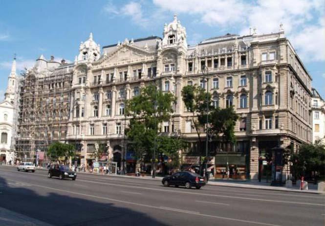Κτήρια της Βουδαπέστης πριν και μετά τον καθαρισμό (4)