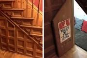Μαμά μετέτρεψε μικρό χώρο κάτω από την σκάλα σε δωμάτιο Harry Potter (6)