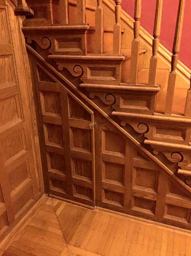 Μαμά μετέτρεψε μικρό χώρο κάτω από την σκάλα σε δωμάτιο Harry Potter (1)