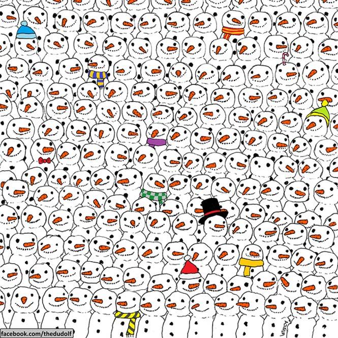 Μπορείτε να εντοπίσετε το Panda σε αυτό το σκίτσο που τρελαίνει το Internet; (1)