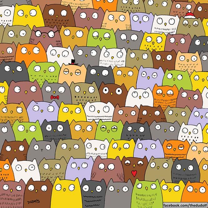 Μπορείτε να εντοπίσετε το Panda σε αυτό το σκίτσο που τρελαίνει το Internet; (3)