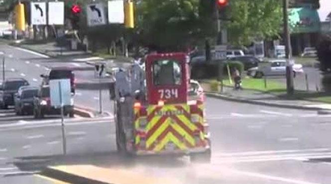 Μπορούν τα πυροσβεστικά οχήματα να κινηθούν πλαγίως;