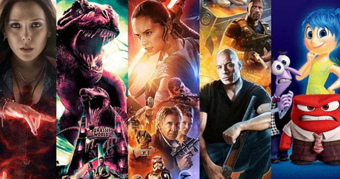 Όλα τα τρέιλερ Όλα τα τρέιλερ ταινιών του 2015 σε ένα εντυπωσιακό βίντεοταινιών του 2015 σε ένα εντυπωσιακό βίντεο