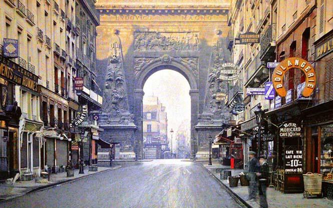 Το Παρίσι μέσα από σπάνιες έγχρωμες φωτογραφίες του 1914 (5)