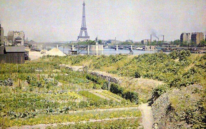 Το Παρίσι μέσα από σπάνιες έγχρωμες φωτογραφίες του 1914 (8)