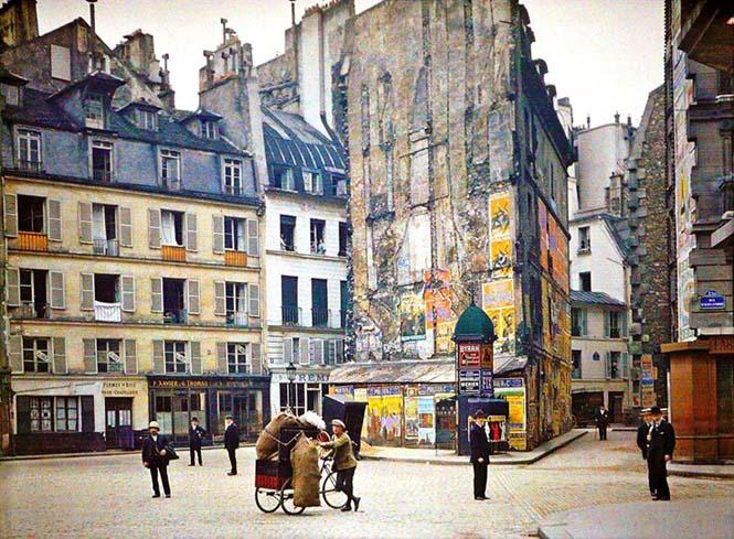 Το Παρίσι μέσα από σπάνιες έγχρωμες φωτογραφίες του 1914 (12)