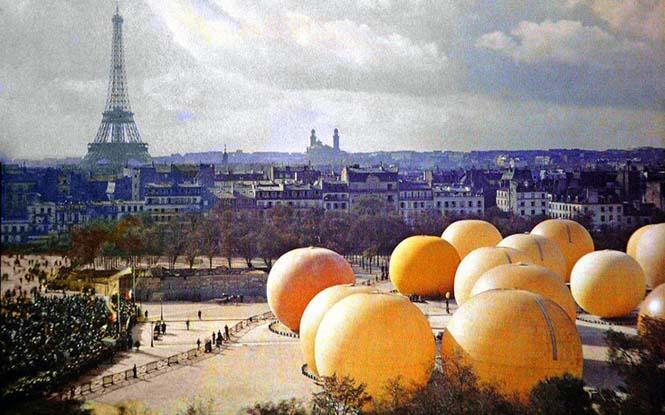 Το Παρίσι μέσα από σπάνιες έγχρωμες φωτογραφίες του 1914 (13)