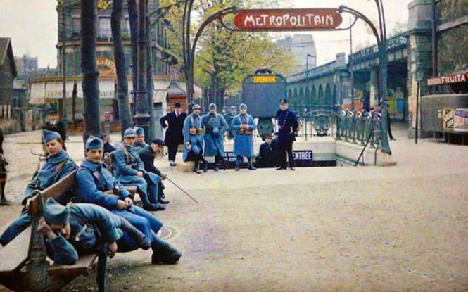 Το Παρίσι μέσα από σπάνιες έγχρωμες φωτογραφίες του 1914 (17)