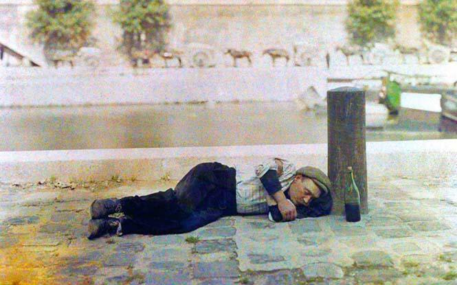 Το Παρίσι μέσα από σπάνιες έγχρωμες φωτογραφίες του 1914 (18)