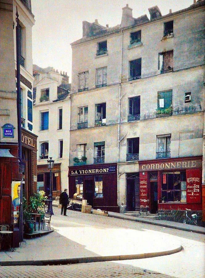 Το Παρίσι μέσα από σπάνιες έγχρωμες φωτογραφίες του 1914 (22)