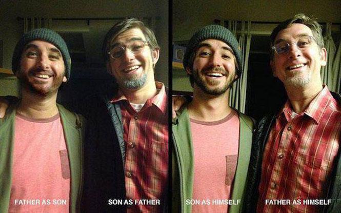 Πατέρας και γιος σε ανταλλαγή ρόλων   Φωτογραφία της ημέρας