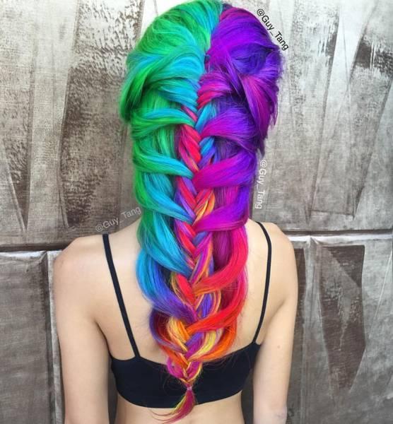 Ουράνιο τόξο στα μαλλιά | Φωτογραφία της ημέρας