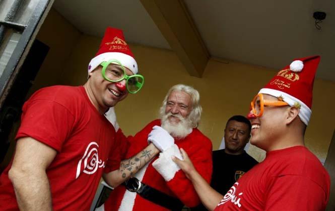 Πως γιορτάζουν τα Χριστούγεννα οι κρατούμενοι μιας φυλακής στο Περού (9)
