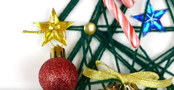 Πως να φτιάξετε ένα πρωτότυπο DIY χριστουγεννιάτικο δένδρο