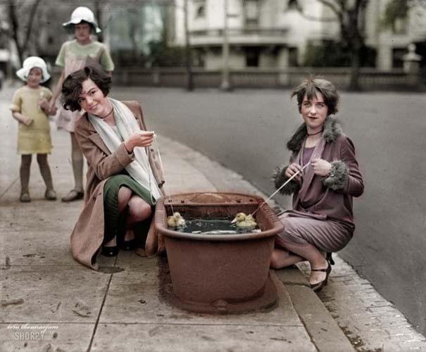 Σπάνιες ιστορικές φωτογραφίες αποκτούν χρώμα (16)