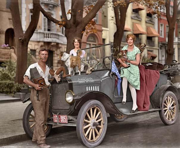 Σπάνιες ιστορικές φωτογραφίες αποκτούν χρώμα (17)