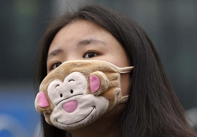 Στυλάτες μάσκες για τον μολυσμένο αέρα της Κίνας (1)