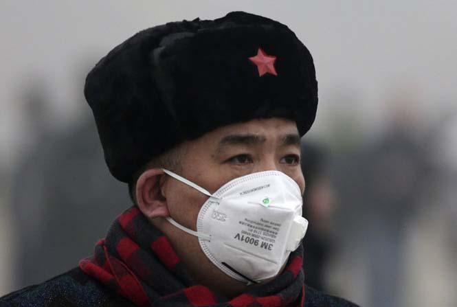 Στυλάτες μάσκες για τον μολυσμένο αέρα της Κίνας (3)