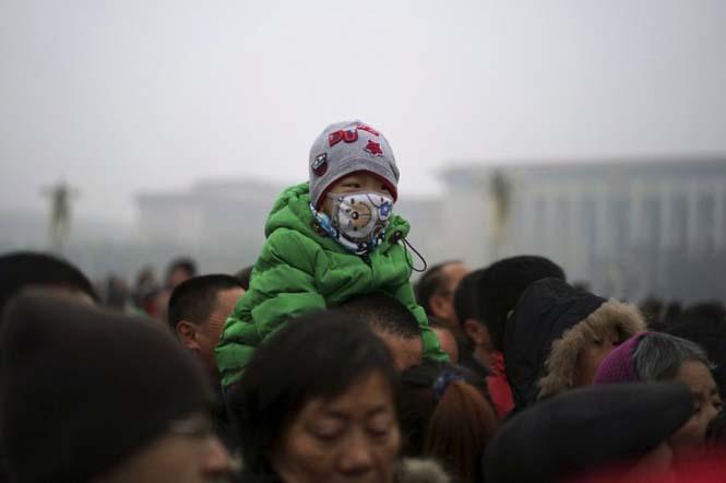 Στυλάτες μάσκες για τον μολυσμένο αέρα της Κίνας (4)