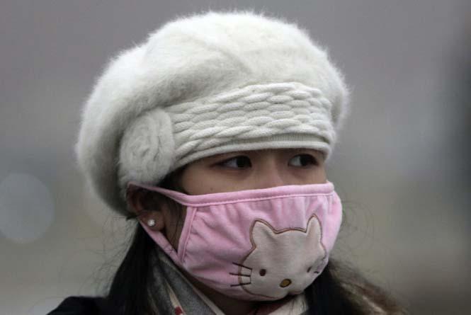 Στυλάτες μάσκες για τον μολυσμένο αέρα της Κίνας (5)