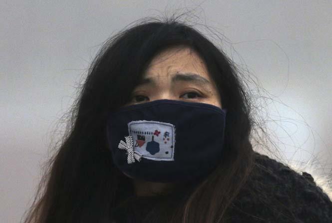 Στυλάτες μάσκες για τον μολυσμένο αέρα της Κίνας (7)