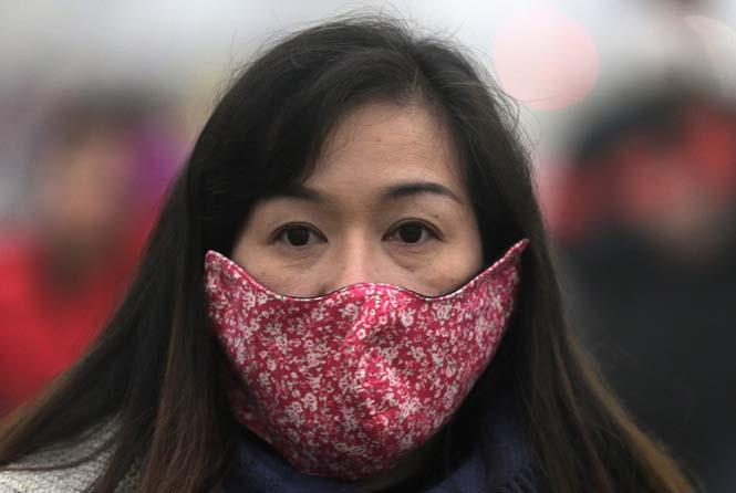 Στυλάτες μάσκες για τον μολυσμένο αέρα της Κίνας (8)
