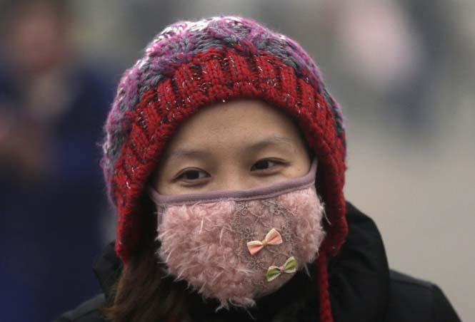 Στυλάτες μάσκες για τον μολυσμένο αέρα της Κίνας (11)