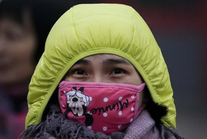 Στυλάτες μάσκες για τον μολυσμένο αέρα της Κίνας (18)