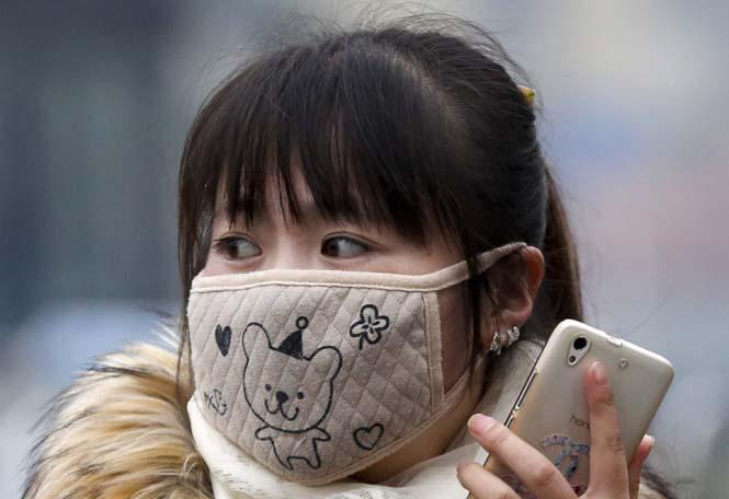 Στυλάτες μάσκες για τον μολυσμένο αέρα της Κίνας (19)