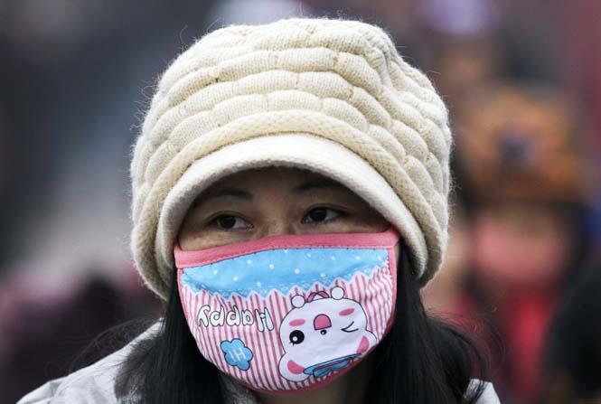 Στυλάτες μάσκες για τον μολυσμένο αέρα της Κίνας (20)