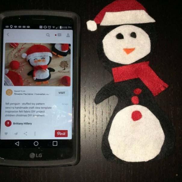 Χριστουγεννιάτικες δημιουργίες που απέτυχαν παταγωδώς... (9)