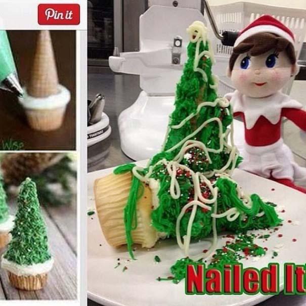 Χριστουγεννιάτικες δημιουργίες που απέτυχαν παταγωδώς... (10)