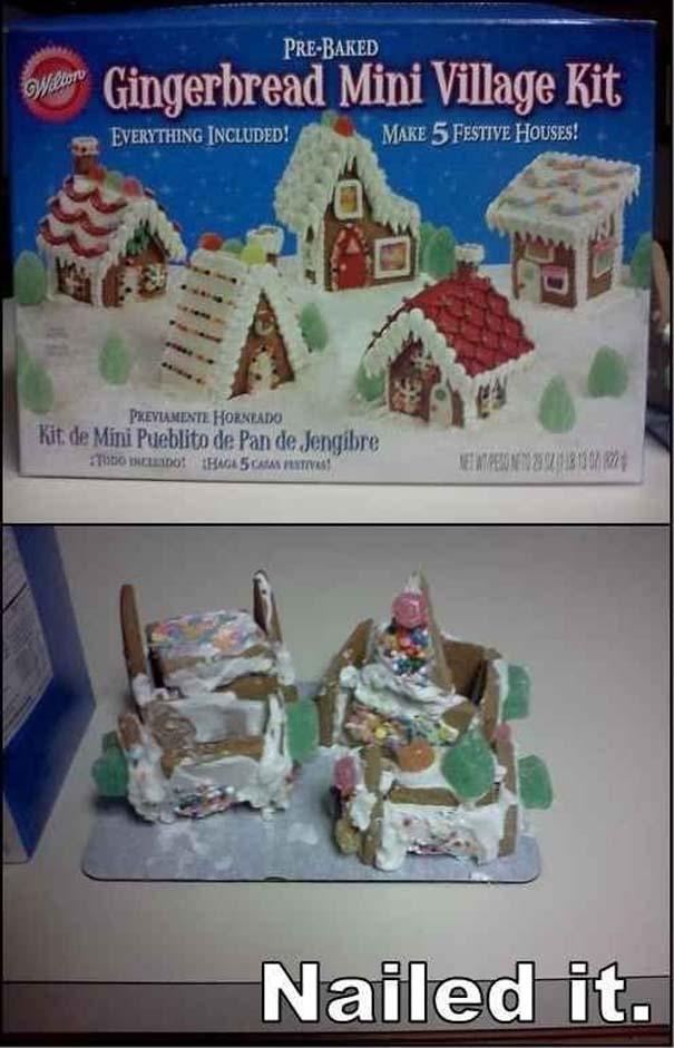 Χριστουγεννιάτικες δημιουργίες που απέτυχαν παταγωδώς... (25)