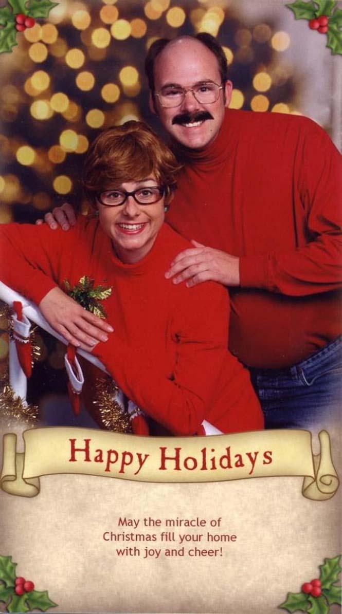 Κάθε χρόνο αυτό το ζευγάρι ετοιμάζει μια ξεκαρδιστική χριστουγεννιάτικη κάρτα (3)