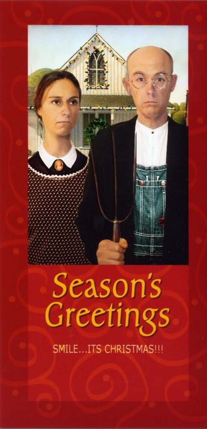 Κάθε χρόνο αυτό το ζευγάρι ετοιμάζει μια ξεκαρδιστική χριστουγεννιάτικη κάρτα (5)