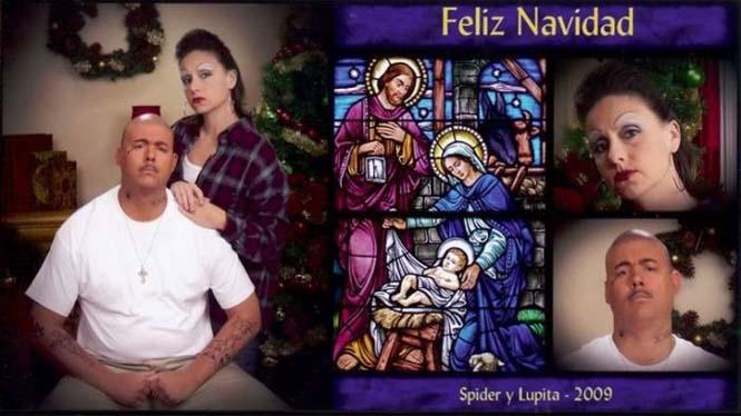 Κάθε χρόνο αυτό το ζευγάρι ετοιμάζει μια ξεκαρδιστική χριστουγεννιάτικη κάρτα (7)