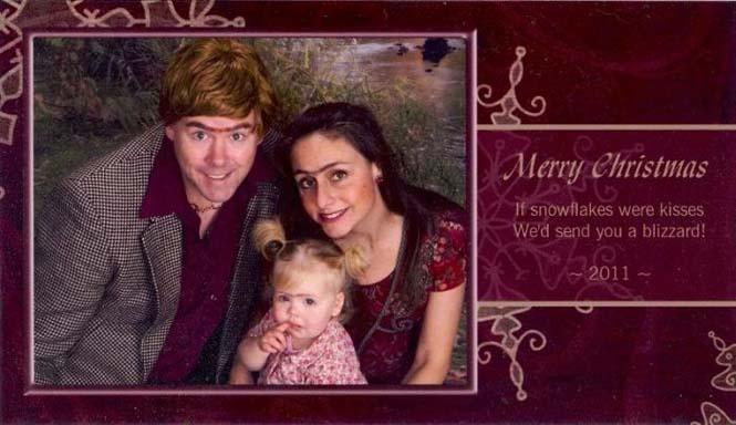 Κάθε χρόνο αυτό το ζευγάρι ετοιμάζει μια ξεκαρδιστική χριστουγεννιάτικη κάρτα (9)