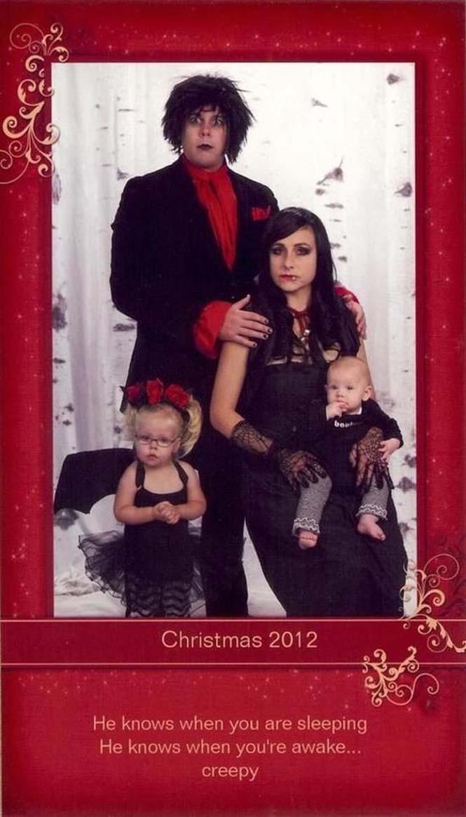 Κάθε χρόνο αυτό το ζευγάρι ετοιμάζει μια ξεκαρδιστική χριστουγεννιάτικη κάρτα (10)