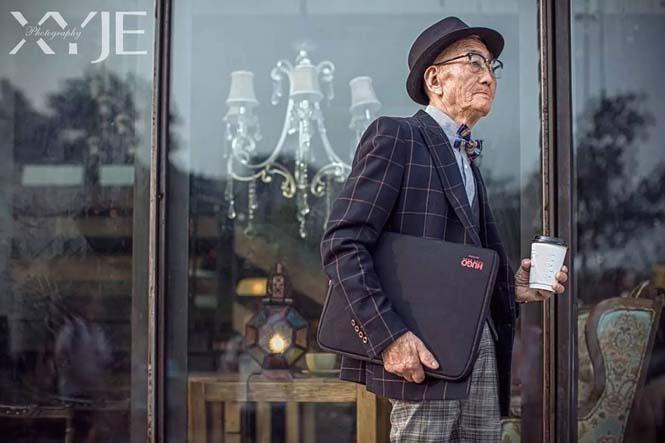85χρονος αγρότης μεταμορφώθηκε σε fashion icon από τον εγγονό του (4)