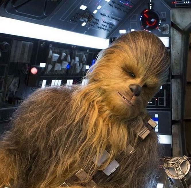 Ο άνθρωπος που ντουμπλάρει τον Chewbacca στην ταινία Star Wars: The Force Awakens (4)