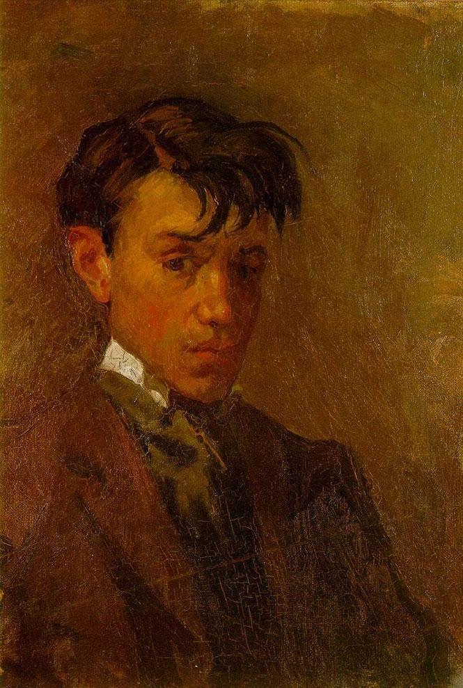 Το αυτοπορτραίτο του Pablo Picasso σε ηλικία 16 και 90 ετών (1)