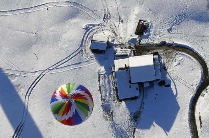 Εκπληκτικές φωτογραφίες από το Διεθνές Φεστιβάλ Αερόστατου στην Ελβετία (1)