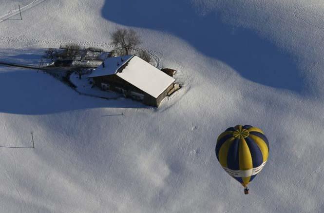 Εκπληκτικές φωτογραφίες από το Διεθνές Φεστιβάλ Αερόστατου στην Ελβετία (3)