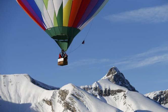 Εκπληκτικές φωτογραφίες από το Διεθνές Φεστιβάλ Αερόστατου στην Ελβετία (4)