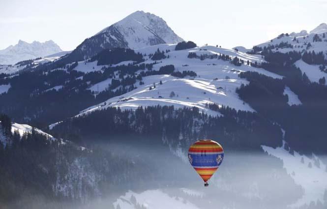 Εκπληκτικές φωτογραφίες από το Διεθνές Φεστιβάλ Αερόστατου στην Ελβετία (5)