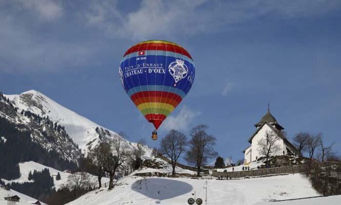 Εκπληκτικές φωτογραφίες από το Διεθνές Φεστιβάλ Αερόστατου στην Ελβετία (6)